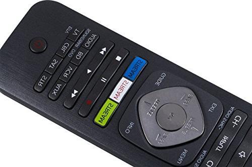 Philips SRP5018/27 Universal Remote Black