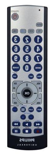 Philips SRU2104S/27 4 Device Universal Remote Control