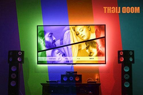 PANGTON Lights 6.56ft for TV USB Kit with 5050 Bias 40-60