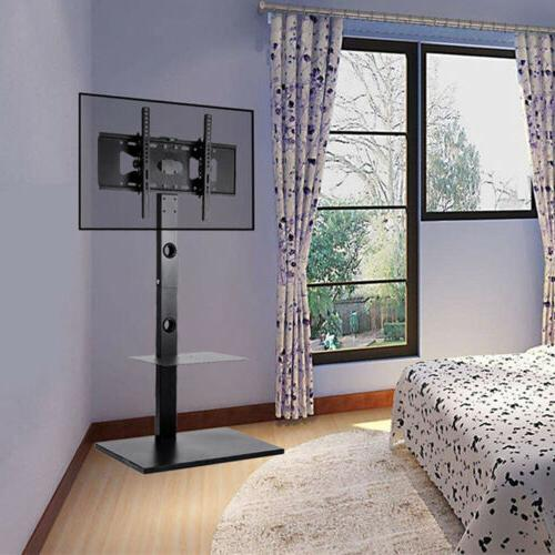 TV Floor Stand Mount DVD Shelf For 32 42 50 55 60 65 RCA Sha