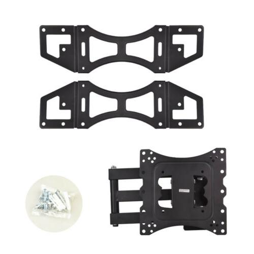 Swivel&Tilt Ceiling TV Mount Flat Bracket 14 24 37 42 inch LED