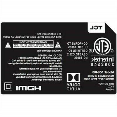TCL 4K HD