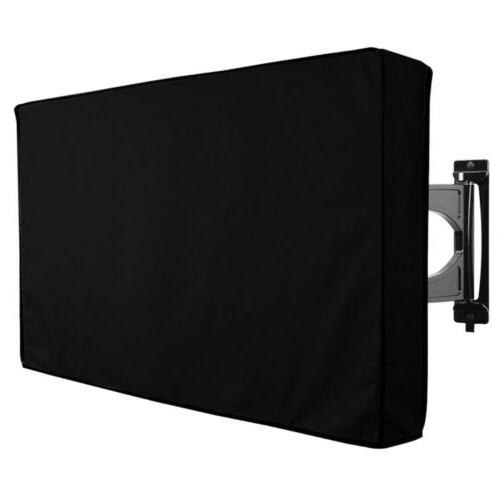 Heavy Duty Outdoor TV Cover Waterproof w/Bottom Cover for 30