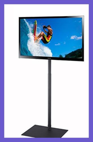 tv display portable floor stand