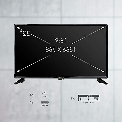 """SANSUI TV LED Televisions 32"""" TV Flat PCA Input High and Monitor Display"""