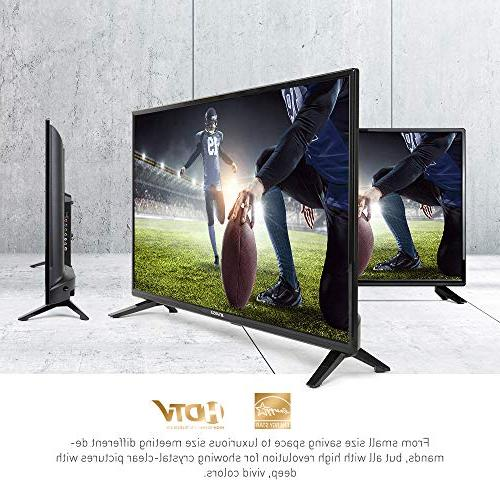 """SANSUI TV 32"""" Flat TV, PCA High and 2"""