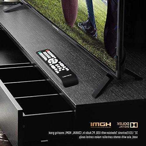 "SANSUI TV LED 32"" 720p Flat Screen TV, HDMI PCA Input High and Widescreen 2"