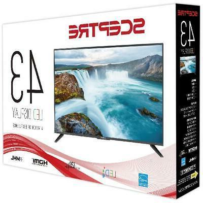 "Sceptre 43"" FHD LED TV X435BV-F"