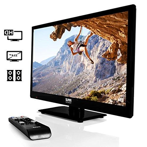 Pyle 1080p LED TV TV | LED Hi Res Monitor with HDMI Input | Monitor | Streaming | Mac PC Speakers | Wall Mount