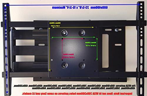 "THE MOUNT Wall Sharp 55"" Class Smart 4K HD TV Roku TV Model: LC-55LBU591U 200x200mm 31.5"