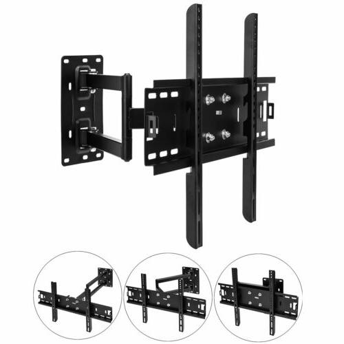 TV Wall Mount Bracket Tilt Swivel 32 40 42 47 51 55 65 70 3D
