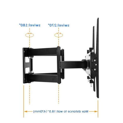TV Wall Mount Swivel Tilt 47 51 60 65 inch Flat