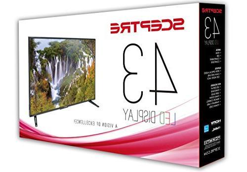 Sceptre 43 LED X438BV-FSRR