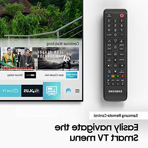 Samsung UN50NU7100 Flat 4K UHD Smart TV 2018