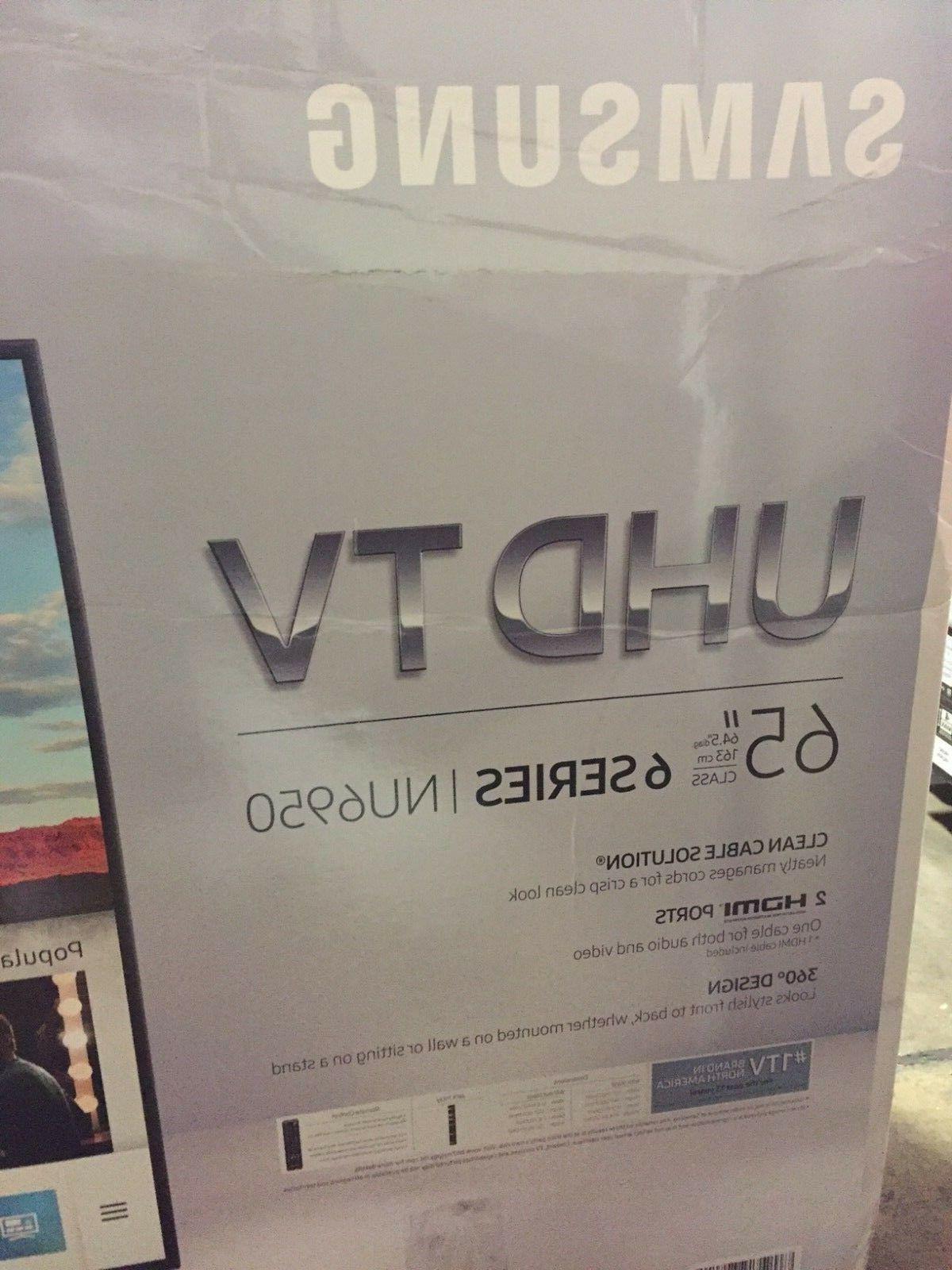 SAMSUNG 4K Ultra HD Smart UN65NU6950FXZA New