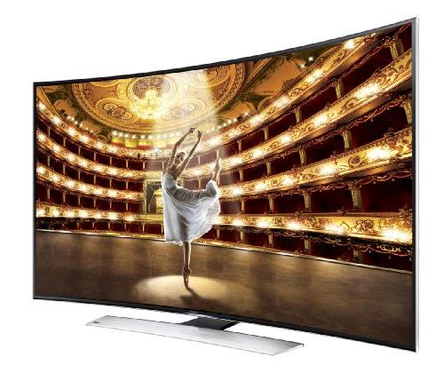 Samsung Curved 4K HD 120Hz 3D