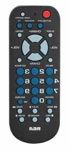 RCA Universal 3-Device Palm-Size Remote Control