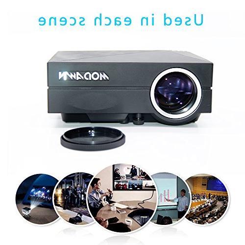 Modawn 1080P 1200 UNIC Cinema Theater WIFI for Video DVD USB/AV/SD/VGA/HDMI