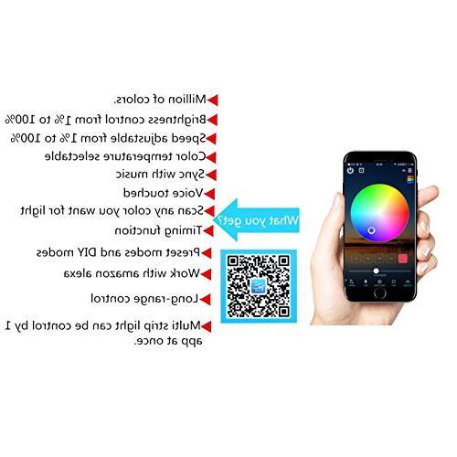 WenTop LED Light Wifi Wireless Smart Phone Works Assistant