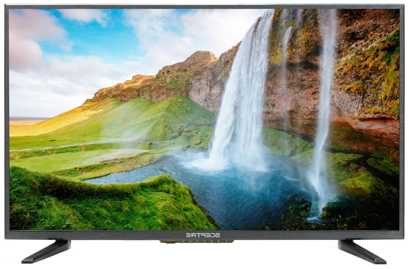 "Sceptre 32"" HD LED TV X32Series 720P 60Hz refresh rate ENERG"