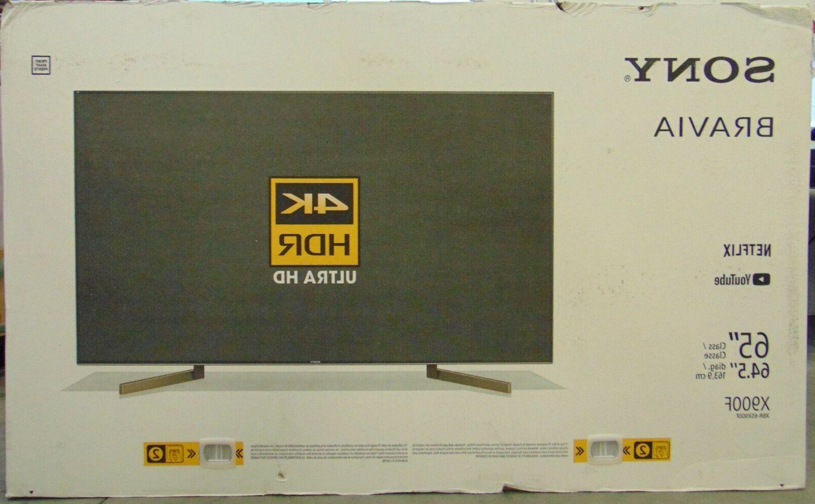 "Sony 65"" Smart LED TV XBR65X900F"