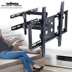 Large TV Wall Mount Full Motion Security Heavy TV Bracket fo
