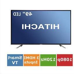 "Hitachi LE49A6R9 49"" Smart 1080p LED HDTV with Roku Ready St"