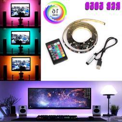LED TV USB Backlight Kit Computer RGB LED Light Strip TV Bac