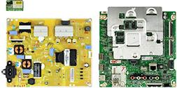 LG 49UJ6300-UA.BUS4LOR Complete LED TV Repair Parts Kit