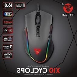 LIKESIDE Mice Fantech X10 USB Wired 4800dpi 7 Buttons Optica