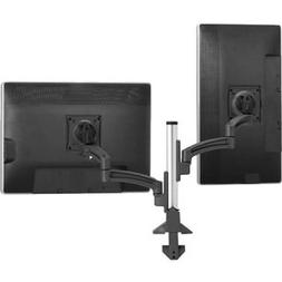 Chief Manufacturing K2 Column Mount Dual Display Dual Stand
