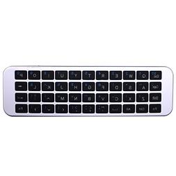 Mini Bluetooth Keyboard, ZIKO Updated QWERTY Mini Wireless B