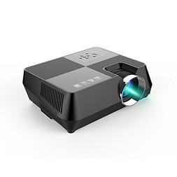 everyone gain 2000 Lumens LCD Mini Projector, Multimedia Hom