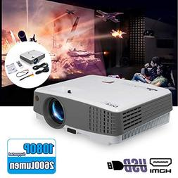 EUG Portable Movie Projector Home Cinema Indoor/Outdoor Use