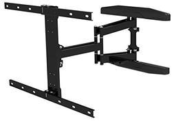 Gibbon Mounts Full Motion Curved TV Wall Mount UHD Bracket L