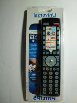 New 5 Device Philips Universal Remote SRU4105WM/17 Free 1st