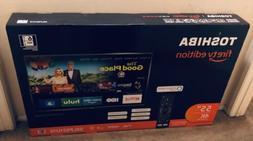 NEW Toshiba 55 LED 2160p 4K FIRE EDITION TV SMART ULTRA HDTV