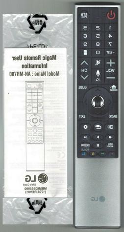 New Genuine LG Signature Magic TV Remote Control AN-MR700 OL
