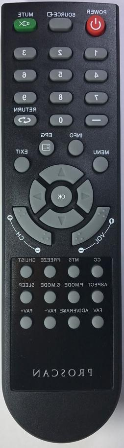 New Proscan TV Remote Control for PLED1960AB, RTPLED3792A, P