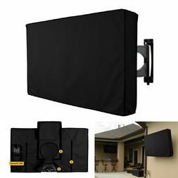 """New TV Cover Outdoor Black Weatherproof Protector for 30""""-58"""