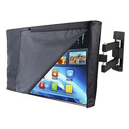 """PX Home Outdoor TV Cover 30"""" - 32"""" with Open Front Flap Desi"""