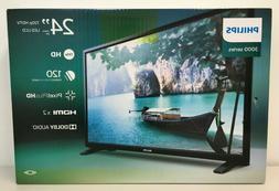 """Phillips 3000 Series 24PFL3603/F7 24"""" 720p HDTV LED/LCD Tele"""