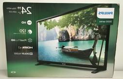 "Phillips 3000 Series 24"" 720p HDTV LED/LCD Television Brand"
