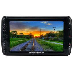 "Trexonic Portable 7"" LED TV w/SD, USB AV Inputs Detachable A"