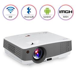 HD Movie Gaming Projector Multimedia LED LCD Home Entertainm