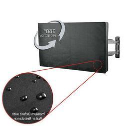 Premium Outdoor Weatherproof Water Resistant LED TV Cover Pr