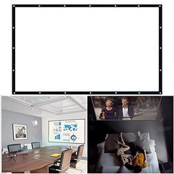 Projector Screen Projection Screen Portable 16:10 84 Inch In