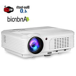 HD Projector 1080P Wifi Bluetooth LED LCD Android Home Theat