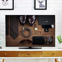 Analisahome Protect Your TV Wood Texture Men s Everyday Obje