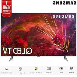 "Samsung QN55Q8FNB 55"" Q8FN Smart 4K Ultra HD QLED TV   with"